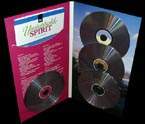 4 panel multi disc packaging