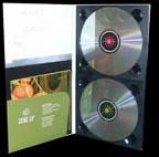 Tall DigiPak with pocket