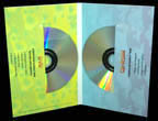 4 panel 2 disc packaging